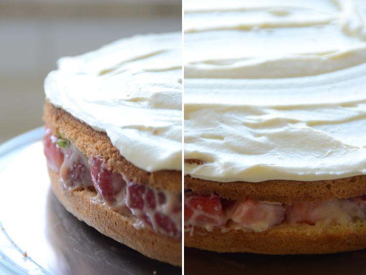 Erdbeer-Minze-Torte-Rezept