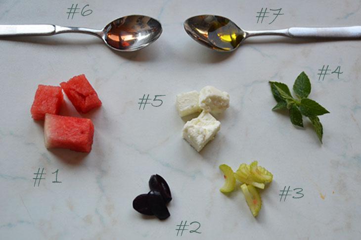 Wassermelone-Feta-Salat-Rezept