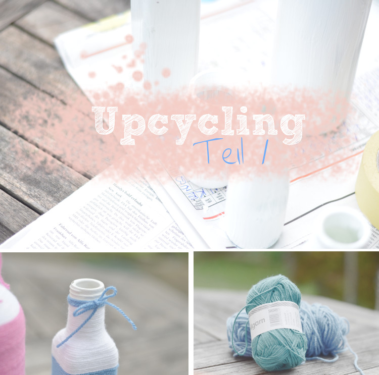 Upcycling von Glasflaschen