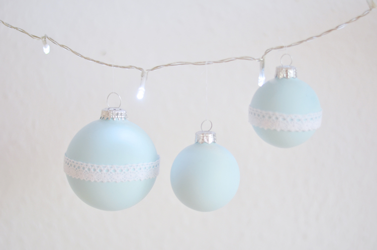 DIY: Alten Weihnachtsbaumschmuck verschönern