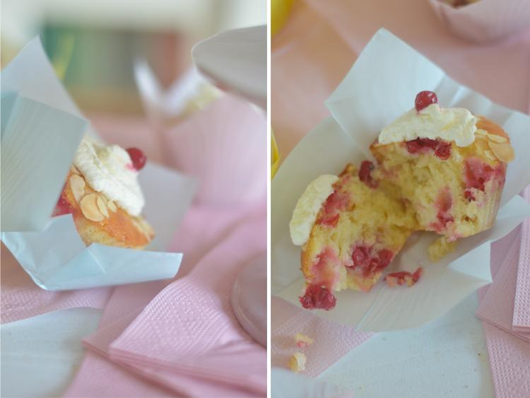 Rezept für Johannisbeer-Holunder-Muffins