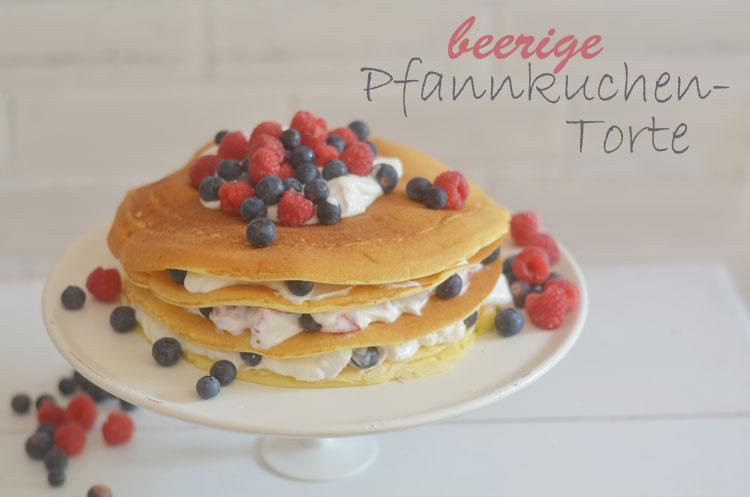 Rezept Pfannkuchen Torte Mit Beeren Bonny Und Kleid