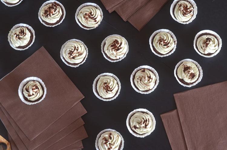 Rezept Matcha-Schoko-Cupcakes