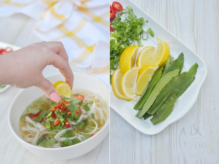rezept vietnamesische pho suppe