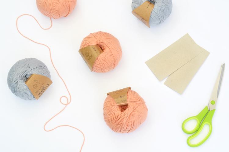 Girlande-aus-Wolle-basteln