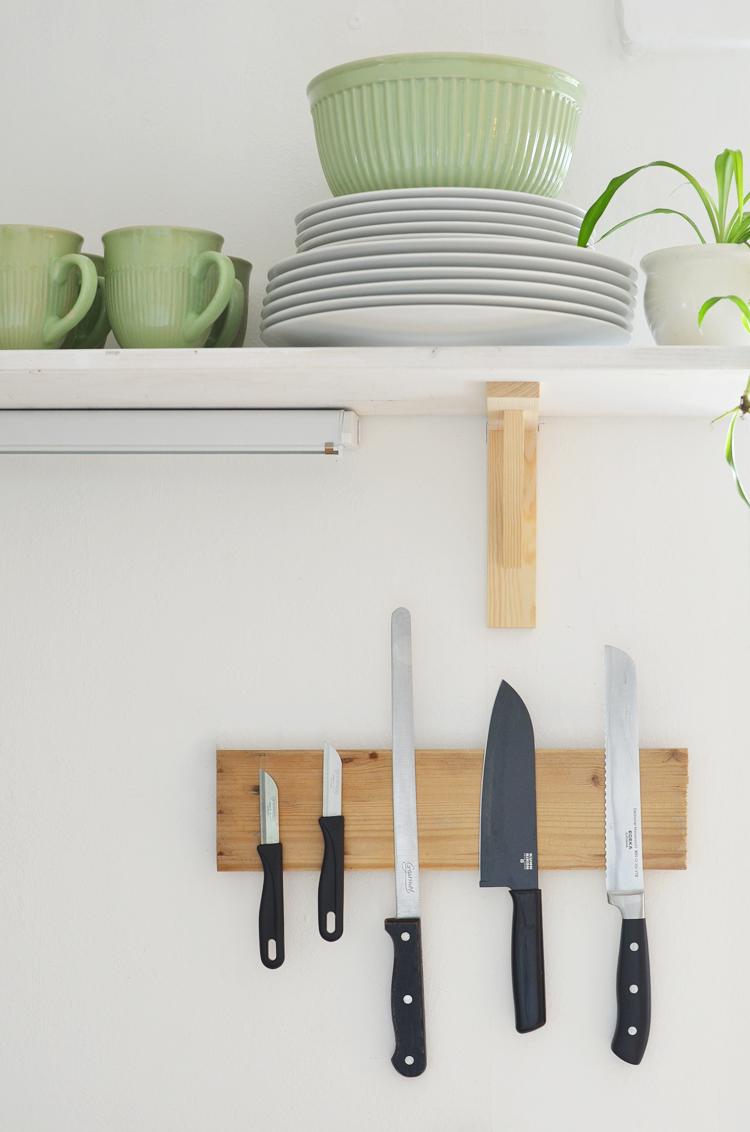 DIY: Magnetbrett für Messer selber bauen – Bonny und Kleid