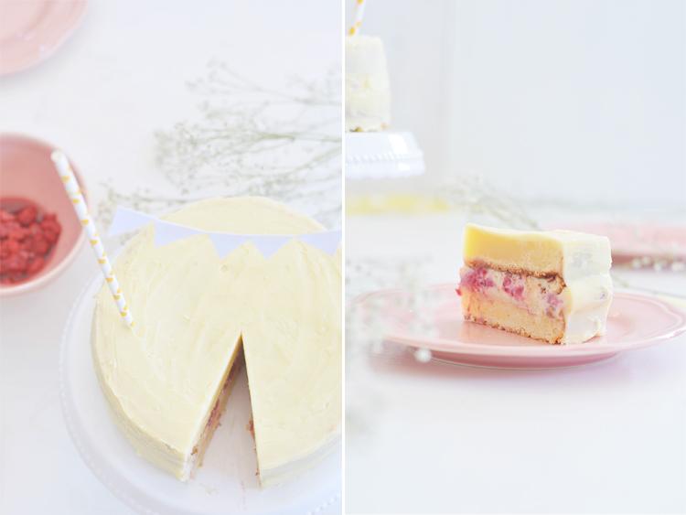 Saftiger Weisse Schokolade Kuchen Rezept Bonny Und Kleid