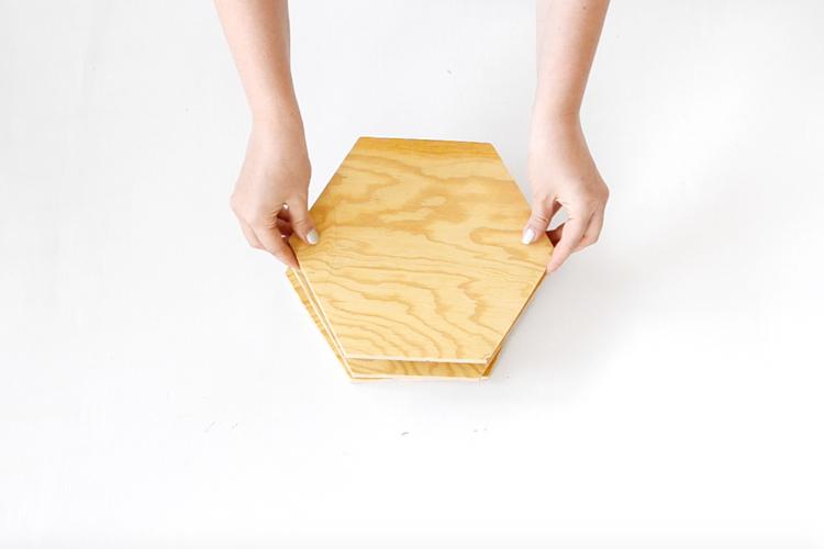 Topfuntersetzer aus Holz selber machen