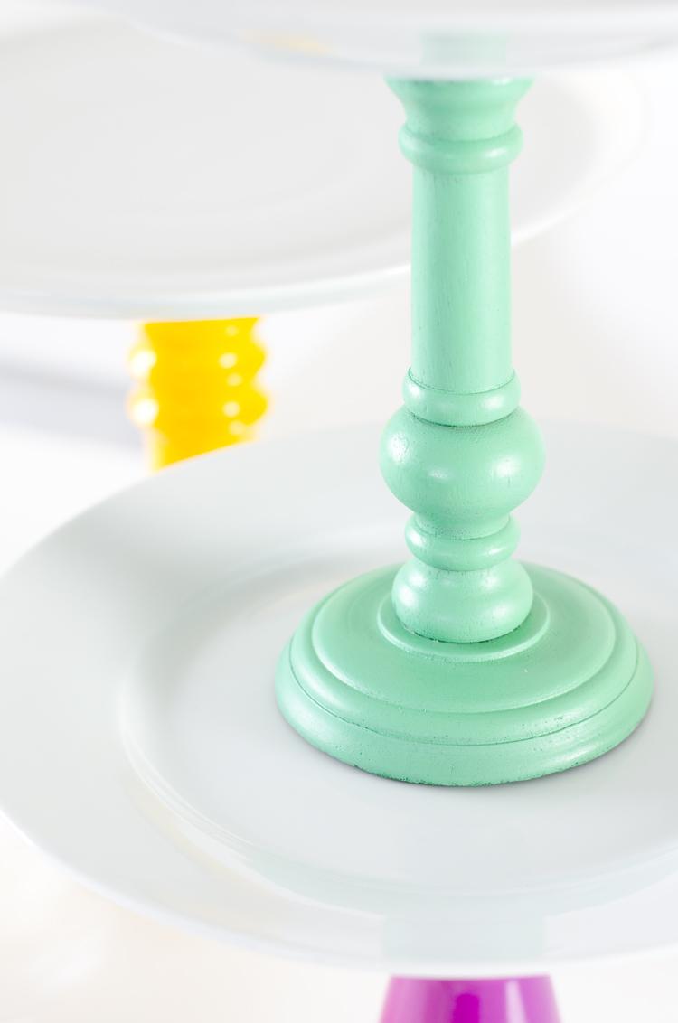 Tortenplatte selber bauen