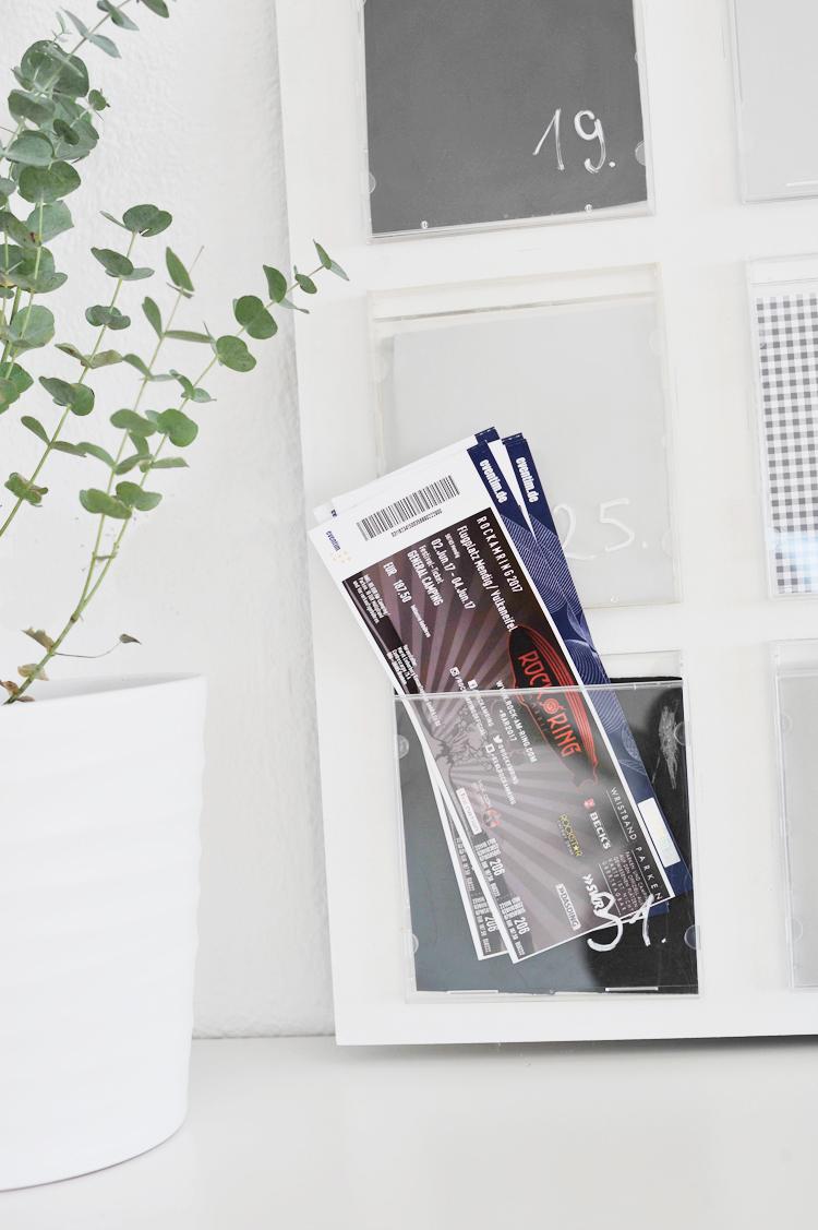 DIY: Wandkalender aus CD-Hüllen