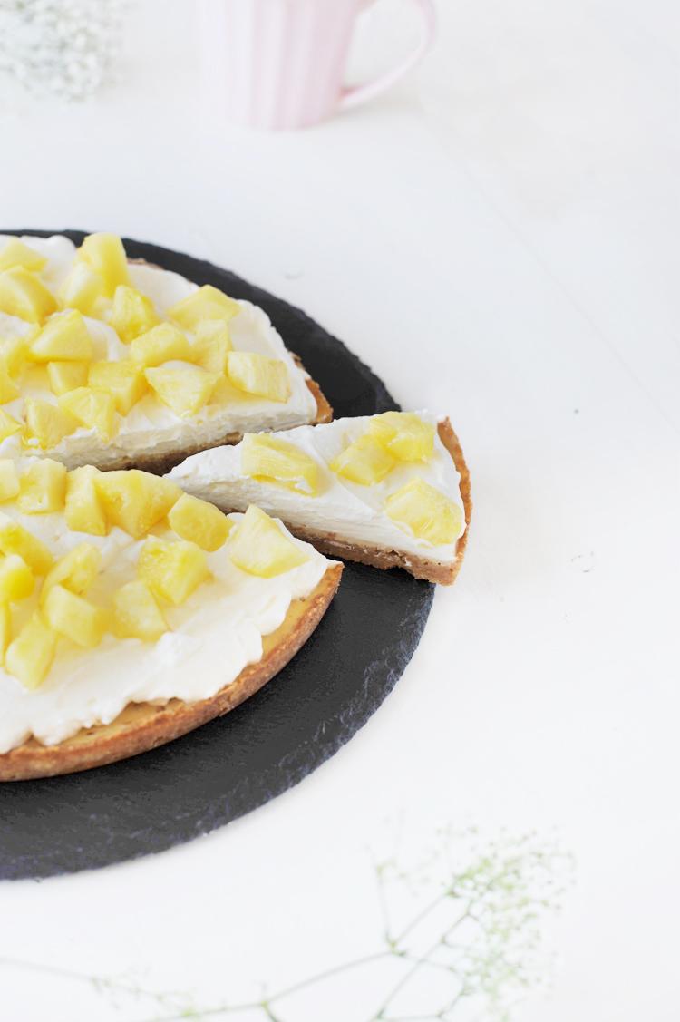 Rezept Limetten Ananas Tarte