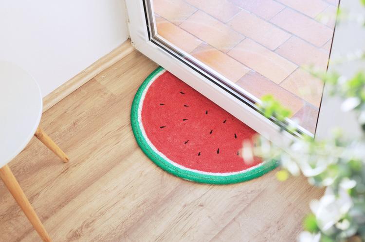 Fußmatte bemalen
