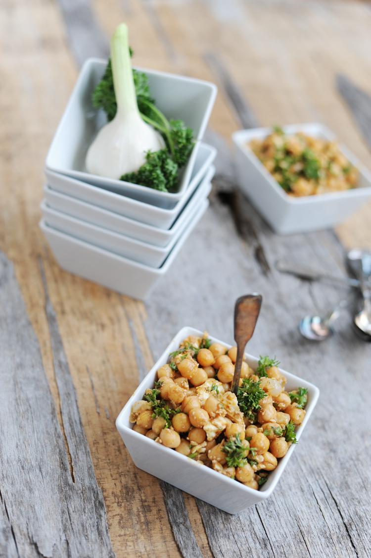 Rezept für Kichererbsen-Salat: Der beste Salat zum Grillen