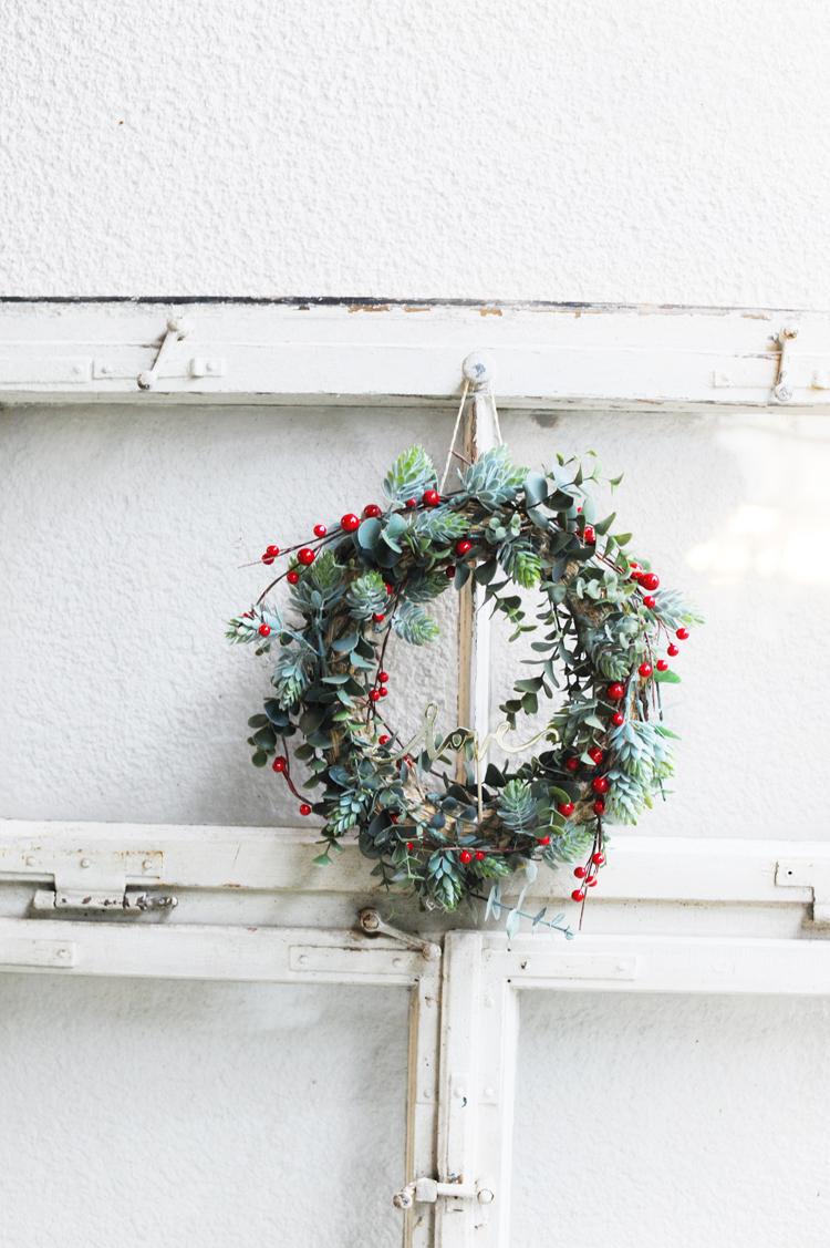 DIY Herbstkranz für die Tür basteln