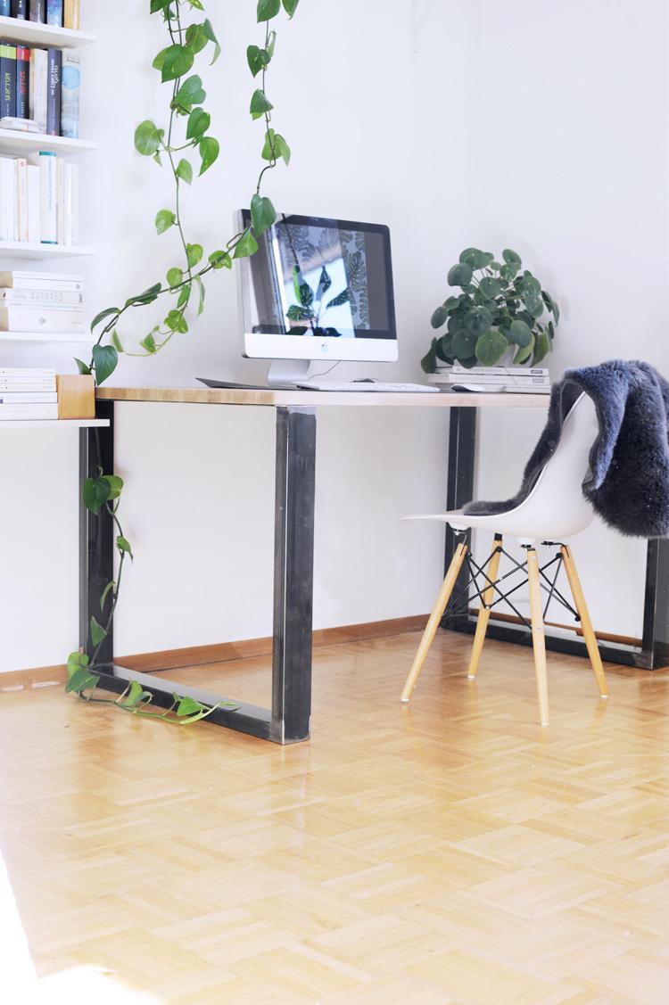 Schreibtisch Selber Bauen Im Industriestil Meine Bau Anleitung Bonny Und Kleid