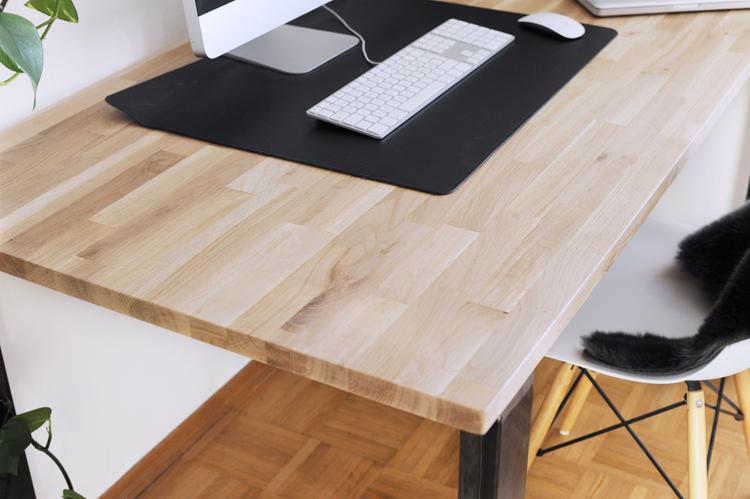 anleitung schreibtisch im industriestil selber bauen obsigen. Black Bedroom Furniture Sets. Home Design Ideas