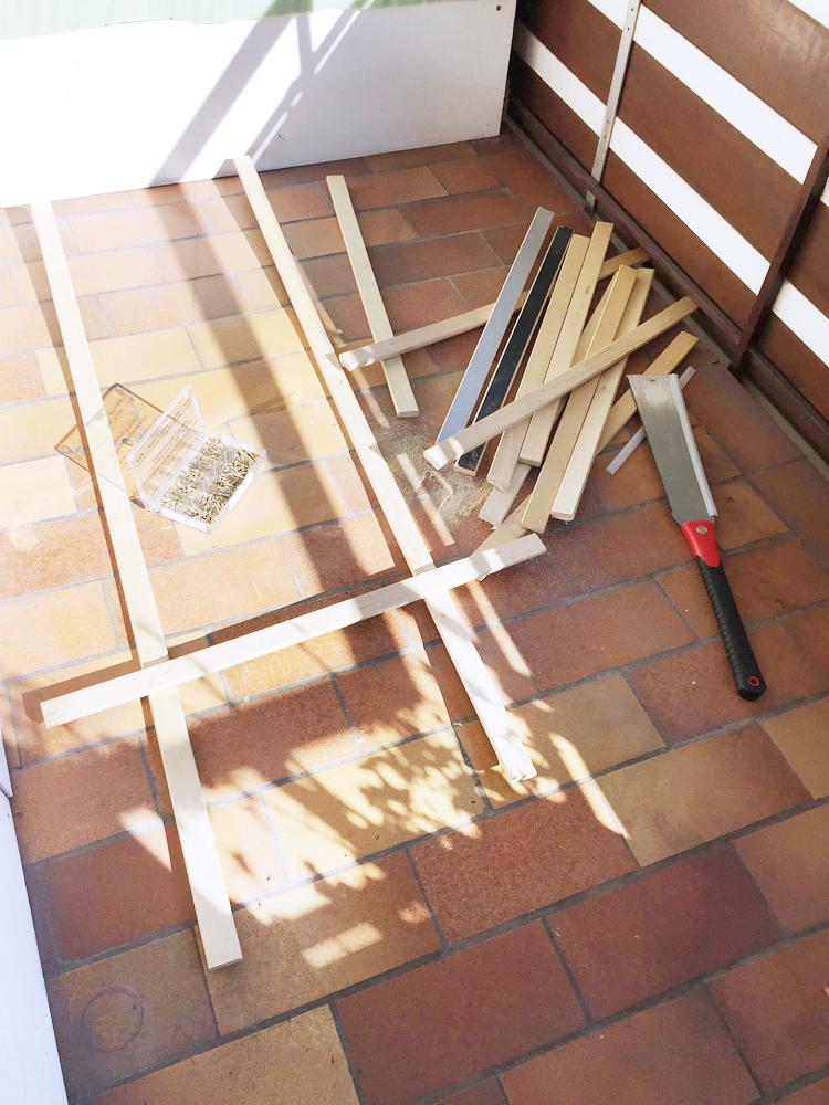 Rankhilfe aus Holz selber bauen