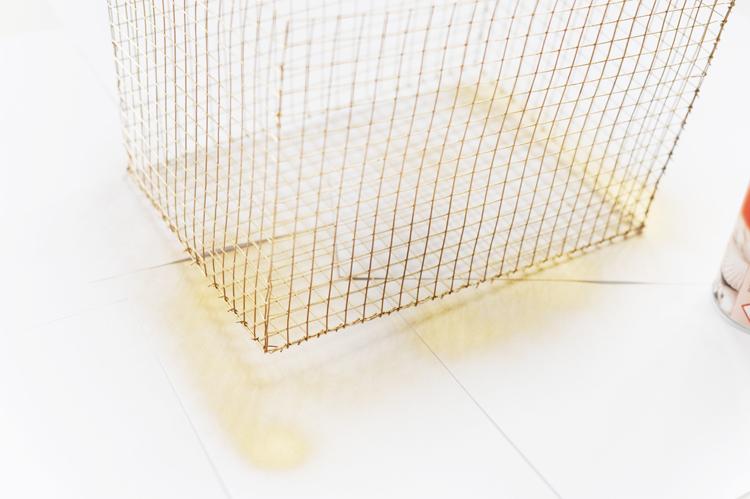 drahtkörbe aus Maschendraht selber machen