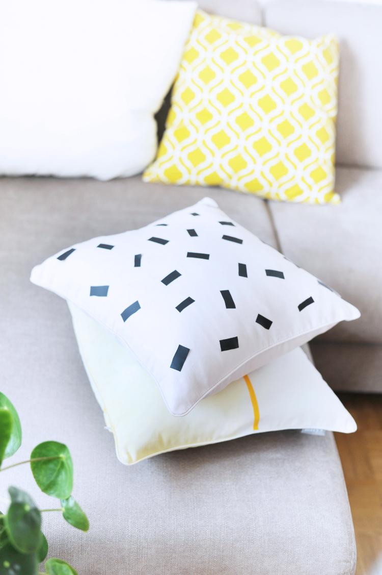 D Diy Kissen Selbermachen Faerben Textilfolie Textilfarbe Kissen