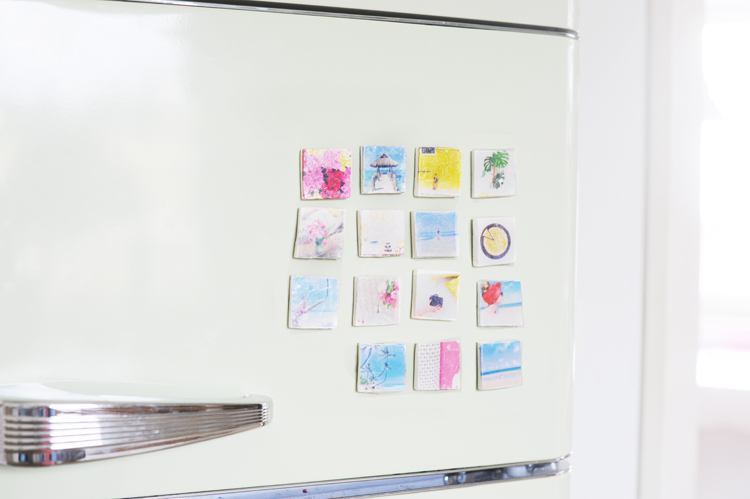 Kühlschrank Magnete : Kuehlschrank magnete selber machen fotos u2013 bonny und kleid