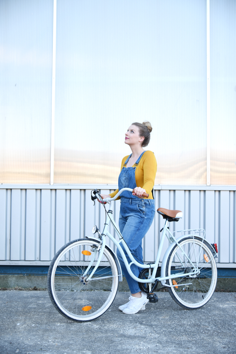 upcycling projekt ein altes fahrrad neu lackieren bonny und kleid. Black Bedroom Furniture Sets. Home Design Ideas