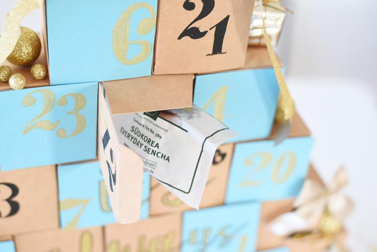 DIY-Idee: Einen Tee-Adventskalender selber machen