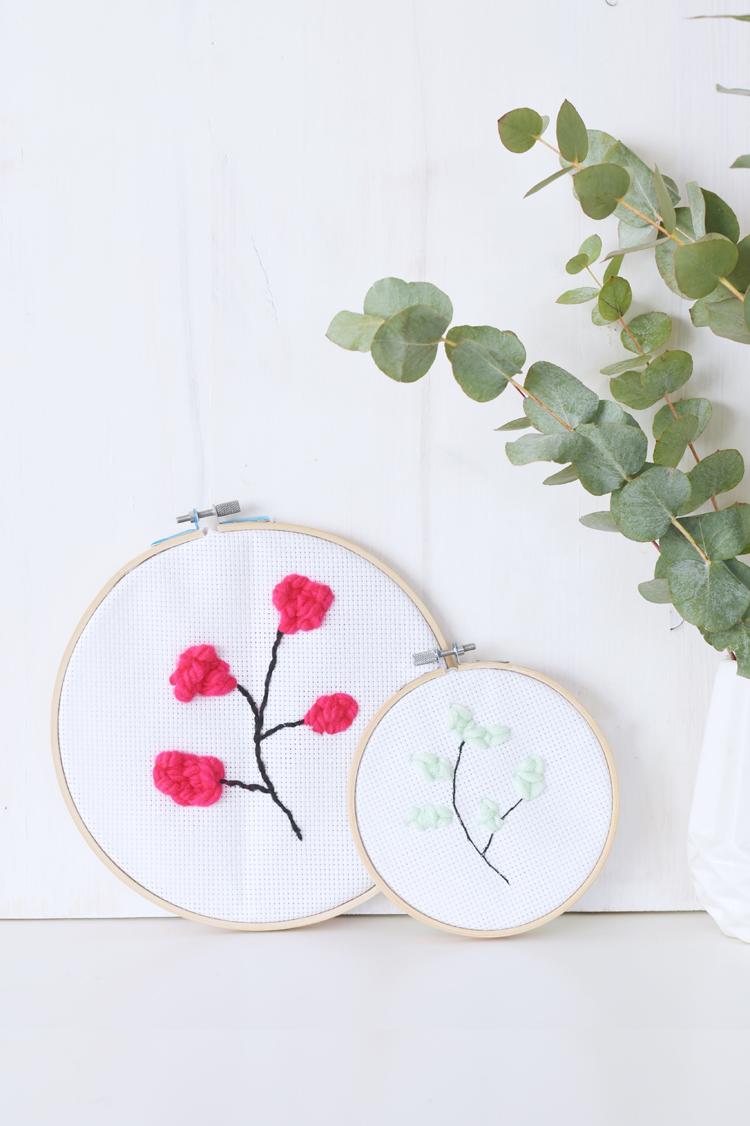 Florale Motive mit der Punch Needle: Ein Erfahrungsbericht