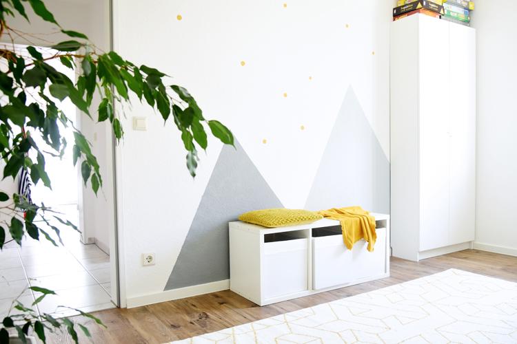 Berge Wand Streichen Kinderzimmer Bonny Und Kleid