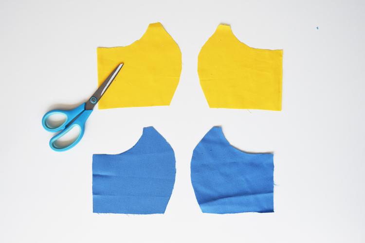 Anleitung für einfache Behelfsmaske