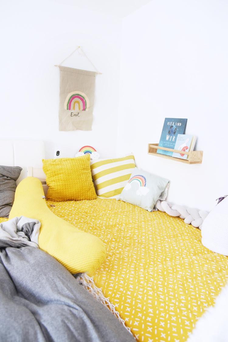 Familienbett bauen: DIY für ein Familienbett mit Rausfallschutz
